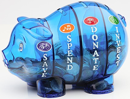Money Savvy Pig - BLUE - USA Version