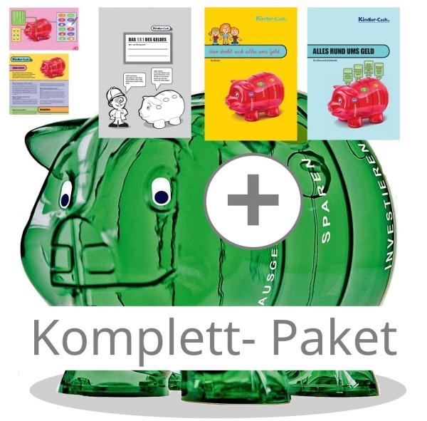 Kinder-Cash Sparschwein Komplett Paket