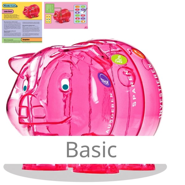 Kinder-Cash Sparschwein Basic