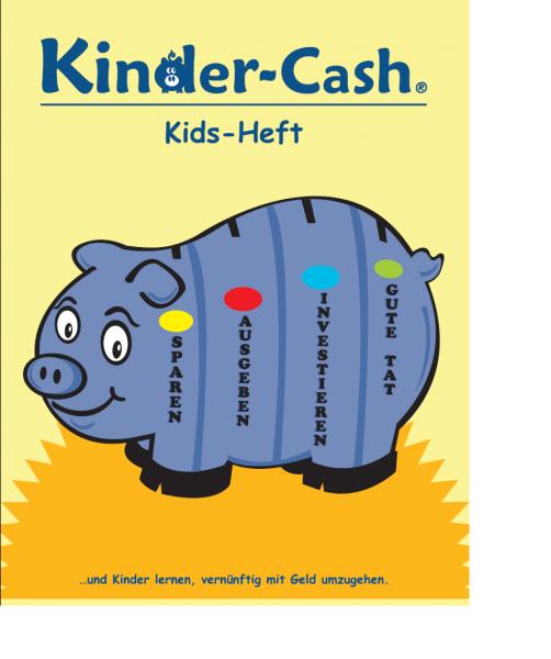 Kids-Heft mit Übungen zum Geldkurs