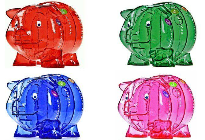Sparschweine groß Farben