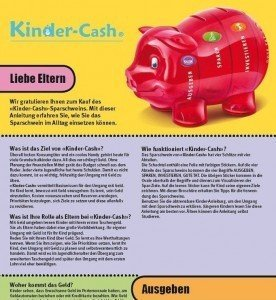 Kinder-Cash Flyer