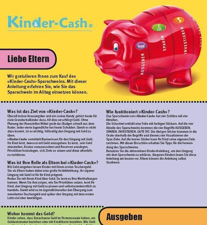 Kinder-Cash Flyer