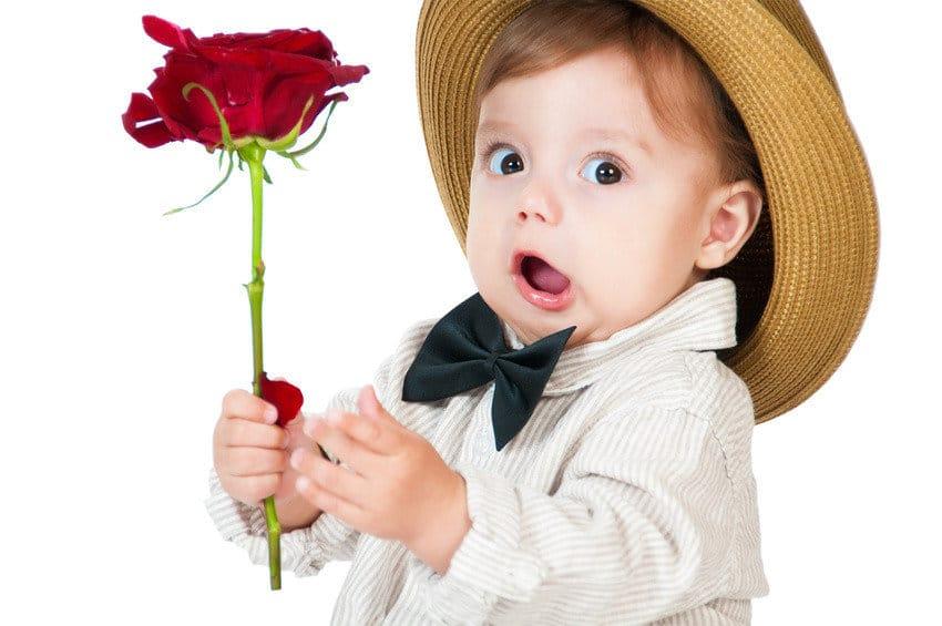 Kinder Geschenk von Herzen