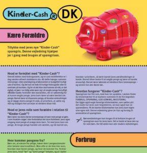 Anleitung zum Sparschwein für Kinder dänisch