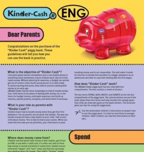 pocket money tips parents piggy bank