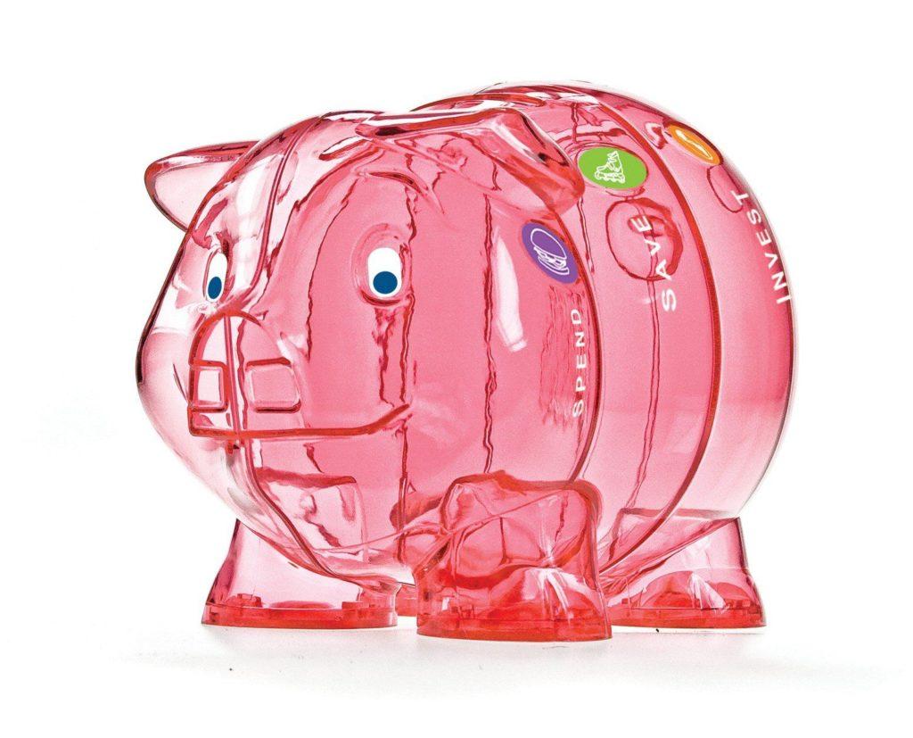 Kinder-Cash Piggy Bank pink