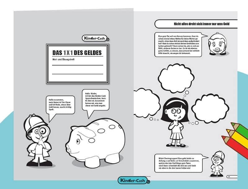 Sparschwein Taschengeld Finanz Erziehung