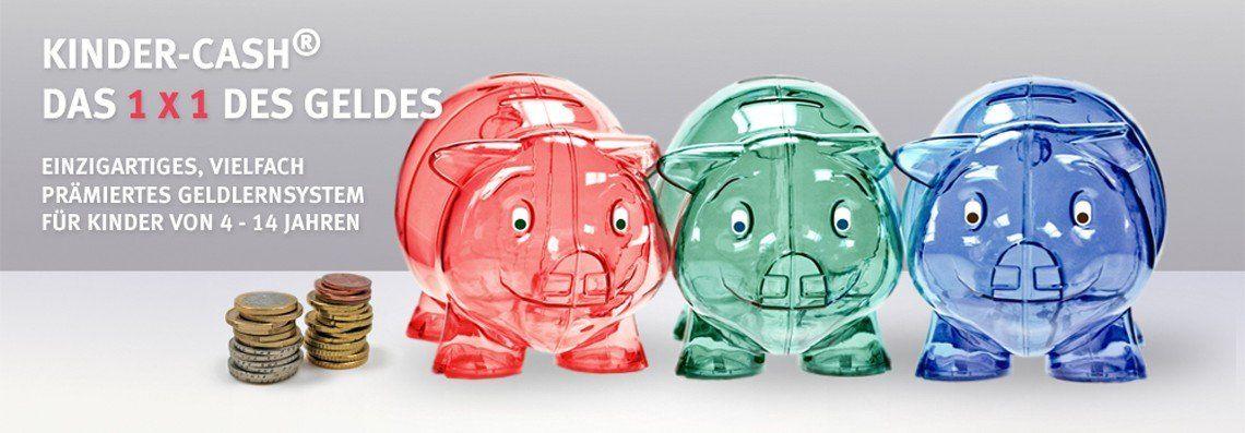 Kinder-Cash Sparschwein Spardosen