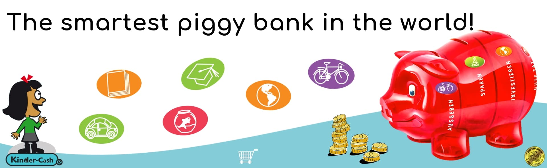 piggybank saving goals for kids